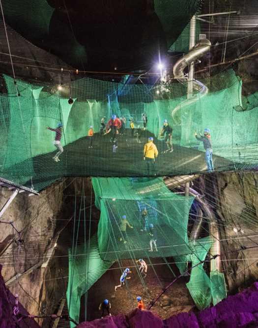 Velocity (Zip World/Bounce Below/Caverns)